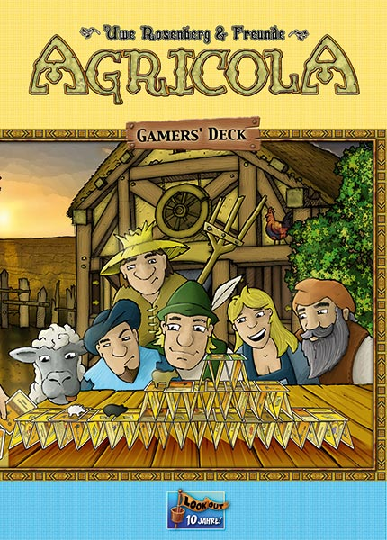 Cover: Agricola: Gamers-Deck
