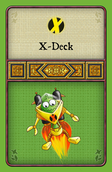 Cover: Agricola: X-Deck
