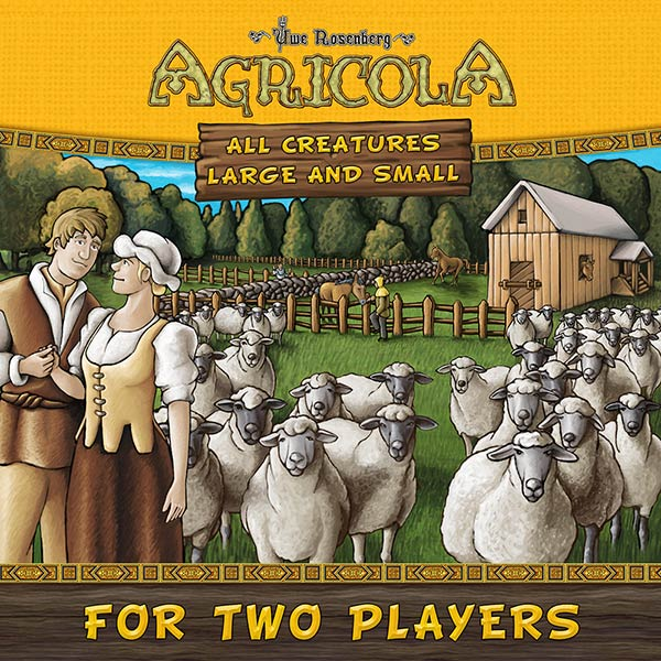Cover: Agricola: All creatures big and small