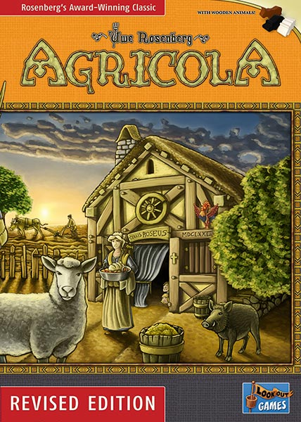 Cover: Agricola (Revised Edition 2016)
