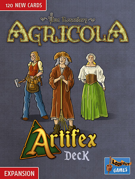 Cover: Agricola (Revised Edition 2016): Artifex-Deck