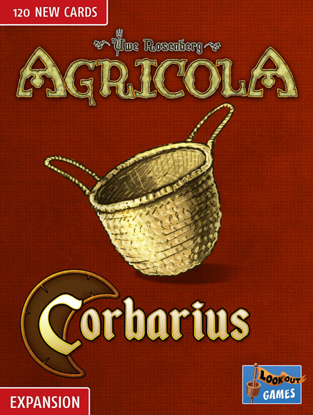 Cover: Agricola (Revised Edition 2016): Corbarius-Deck