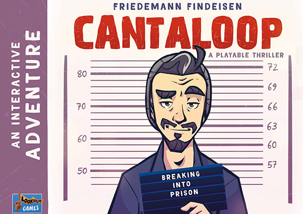 Cantaloop - Book 1: Breaking into prison Cover