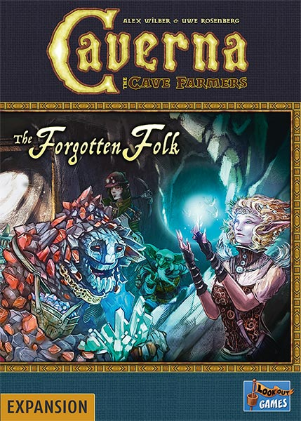 Cover: Caverna - The Cave Farmers: The Forgotten Folk