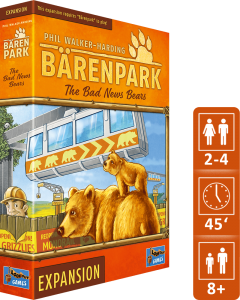 Lookout Spiele » New games 2019: Bärenpark — The Bad News Bears