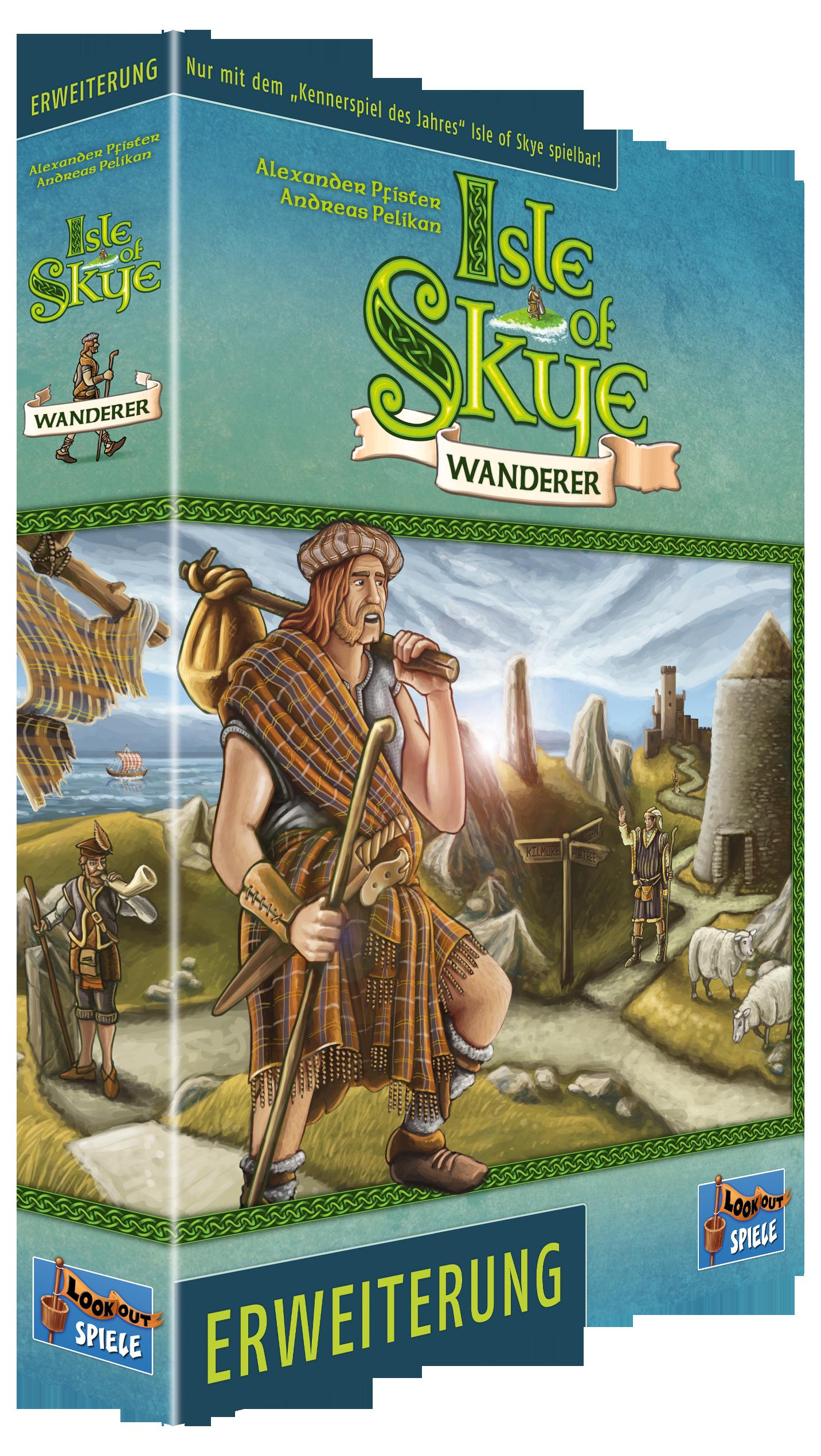 Isle of Skye – Erweiterung: Wanderer